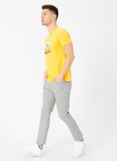 Limon Company Limon Açık Gri Chıno Pantolon Gri